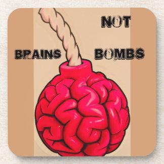 Dessous-de-verre Bombes de cerveaux pas