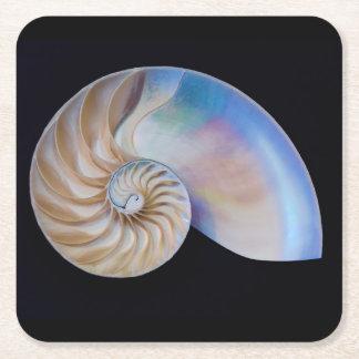 Dessous-de-verre Carré En Papier À l'intérieur du Nautilus