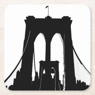 Dessous-de-verre Carré En Papier Brooklyn Bridge Dream