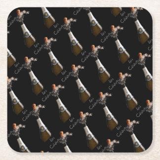 Dessous-de-verre Carré En Papier Célébrons