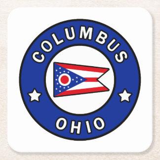 Dessous-de-verre Carré En Papier Columbus Ohio