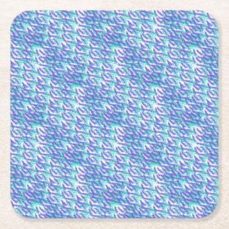Dessous-de-verre Carré En Papier lavande