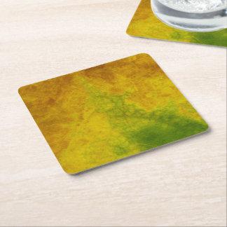 Dessous-de-verre Carré En Papier Nature de feuille