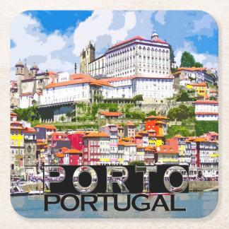 Dessous-de-verre Carré En Papier Porto