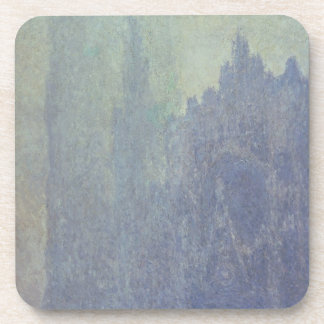 Dessous-de-verre Cathédrale de Claude Monet   Rouen, temps brumeux