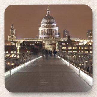 Dessous-de-verre Cathédrale de St Pauls et pont de millénaire à