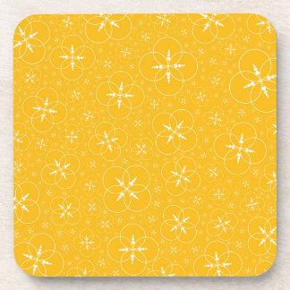 Dessous-de-verre Cercles jaunes de culture