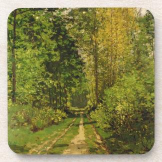 Dessous-de-verre Chemin boisé de Claude Monet  
