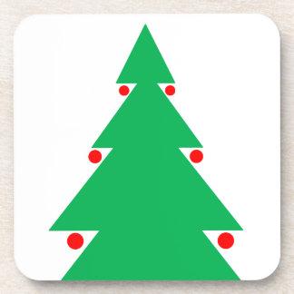 Dessous-de-verre Conception 8,5 d'arbre de Noël par 8,5 le 21