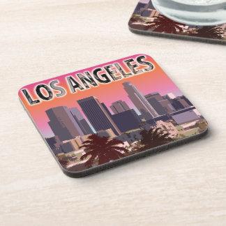 Dessous-de-verre Coucher du soleil dans L.A. la Californie