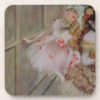 Dessous-de-verre Danseur d'Edgar Degas   contre une étape plate,