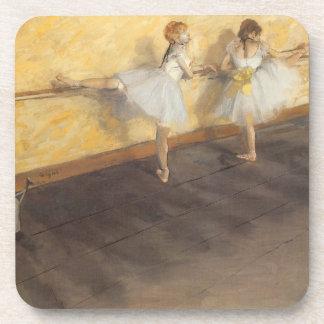 Dessous-de-verre Danseurs à la barre par Edgar Degas, ballet