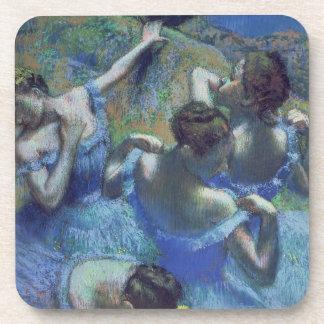 Dessous-de-verre Danseurs de bleu d'Edgar Degas  , c.1899