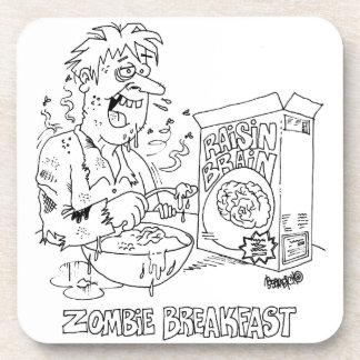 Dessous de verre de bande dessinée de zombi