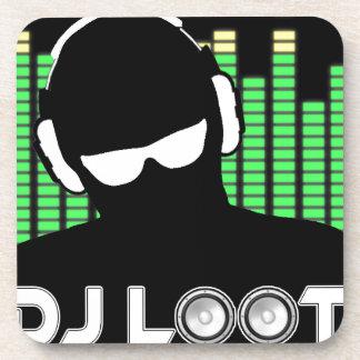 Dessous de verre de butin du DJ