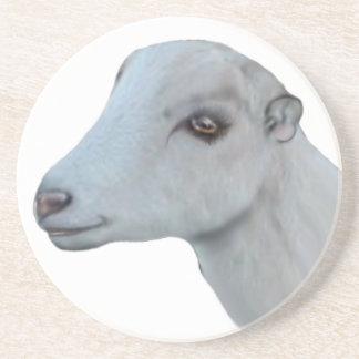 Dessous de verre de grès de chèvre de LaMancha