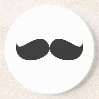 Dessous de verre de moustache