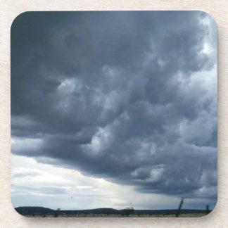 Dessous de verre de nuage de tempête