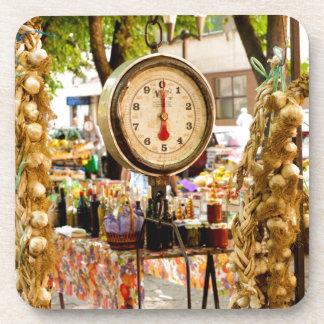Dessous-de-verre Échelle antique du marché
