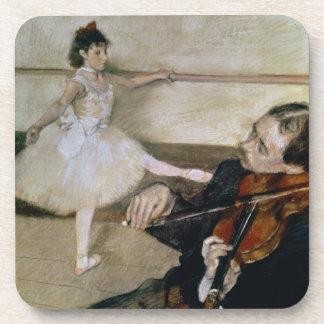 Dessous-de-verre Edgar Degas   la leçon de danse, c.1879