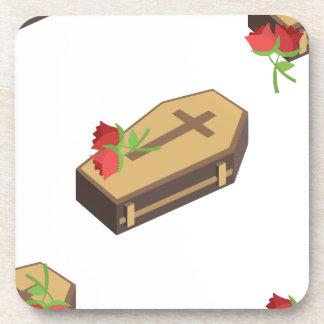 Dessous-de-verre emojis de cercueil