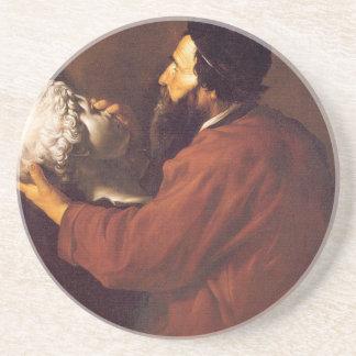Dessous De Verre En Grès Allégorie de contact par Jusepe de Ribera