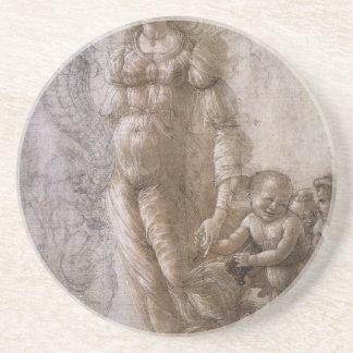 Dessous De Verre En Grès Allégorie de l'abondance par Sandro Botticelli