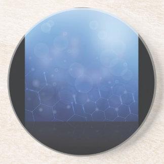Dessous De Verre En Grès arrière - plan de molécules