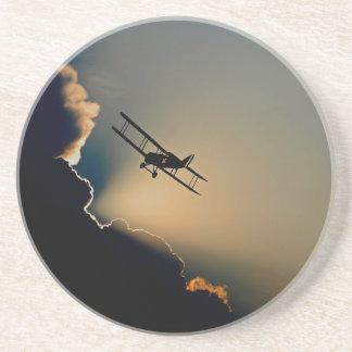 Dessous De Verre En Grès avions