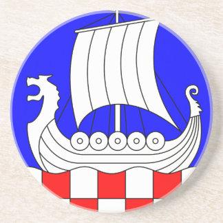 Dessous De Verre En Grès Baabe_Wappen1.