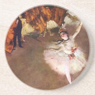 Dessous De Verre En Grès Ballerine de Prima, Rosita Mauri par Edgar Degas