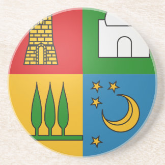 Dessous De Verre En Grès Bouzaréah_Coat_of_Arms_ (Frech_Algeria)