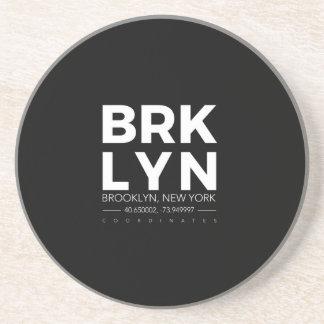 Dessous De Verre En Grès Brooklyn