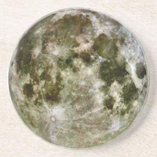 Dessous De Verre En Grès Caboteur de grès de pleine lune
