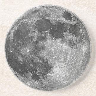 Dessous De Verre En Grès Caboteur de pleine lune