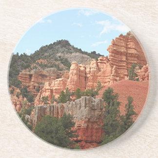 Dessous De Verre En Grès Canyon rouge, Utah, Etats-Unis 2