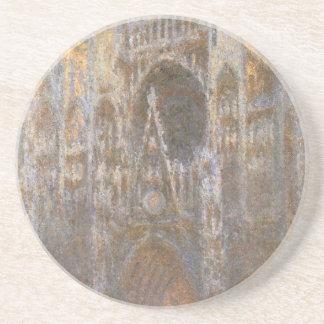 Dessous De Verre En Grès Cathédrale 02 de Rouen par Claude Monet
