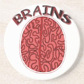 Dessous De Verre En Grès cerveaux