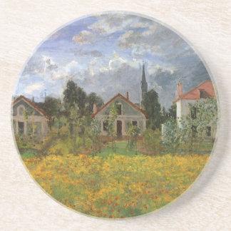 Dessous De Verre En Grès Chambres à Argenteuil par Claude Monet, art