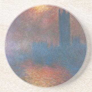 Dessous De Verre En Grès Chambres du Parlement, Londres par Claude Monet