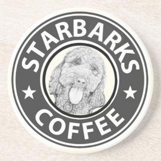 Dessous De Verre En Grès chien Starbucks