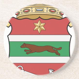 Dessous De Verre En Grès Coa_Hungary_County_Verőce_ (histoire)
