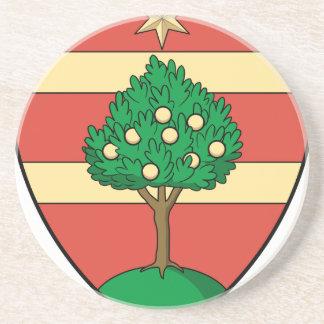 Dessous De Verre En Grès Coa_Romania_County_Maros_History.