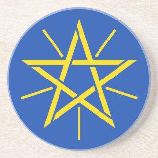 Dessous De Verre En Grès Coat_of_arms_of_Ethiopia