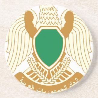 Dessous De Verre En Grès Coat_of_arms_of_Libya_ (1977-2011)