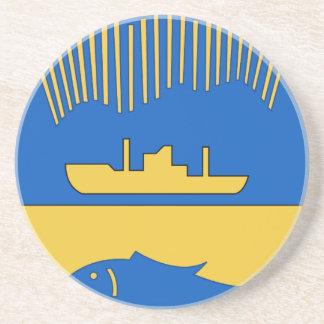 Dessous De Verre En Grès Coat_of_Arms_of_Murmansk_ (1968-2004)