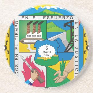 Dessous De Verre En Grès Coat_of_arms_of_Puebla