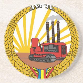 Dessous De Verre En Grès Coat_of_arms_of_the_Popular_Republic_of_Romania_