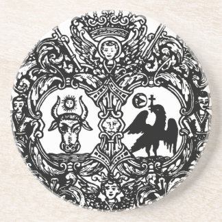 Dessous De Verre En Grès Coats_of_arms_of_Moldavia_and_Wallachia