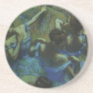 Dessous De Verre En Grès Danseurs bleus par Edgar Degas, impressionisme